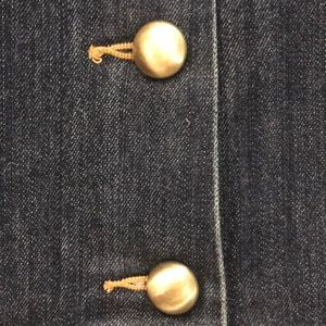 MICHAEL Michael Kors Skirts - Michael Kors denim skirt with button details